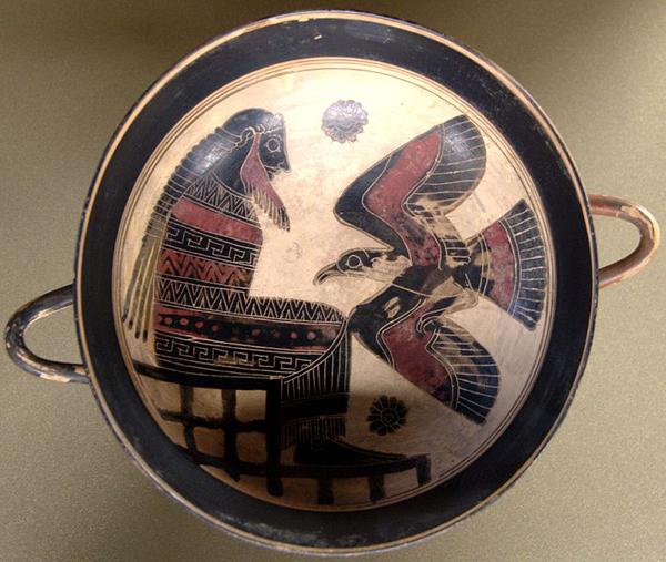 Древнегреческий миф о рождении зевса
