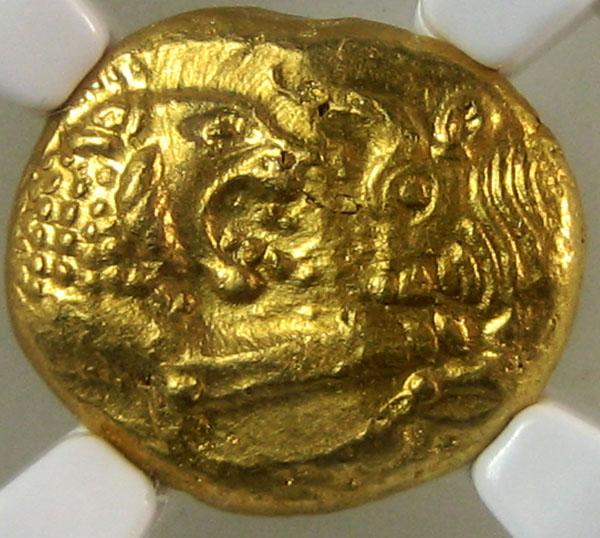 Золотые греческие монеты лидии. русский след.