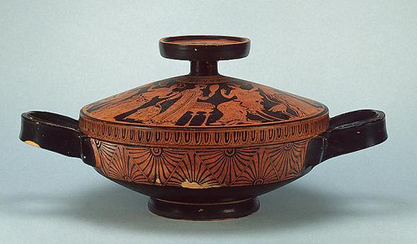 Древнегреческая большая чаша для вина и воды